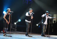 Concert de Pékin d'excursion du monde de Backstreet Boys Photographie stock libre de droits