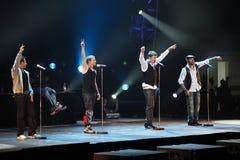 Concert de Pékin d'excursion du monde de Backstreet Boys Photos libres de droits
