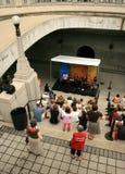 Concert de plaza de passerelle photos libres de droits