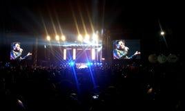 Concert de PSY en Turquie Photos libres de droits