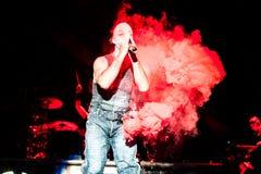 Concert de Rammstein Images stock