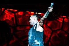 Concert de Rammstein Photographie stock libre de droits