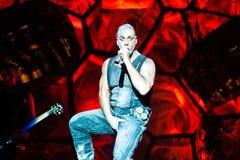 Concert de Rammstein Image stock