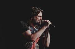 Concert de Ray Wilson Photographie stock libre de droits