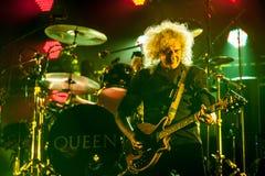 Concert de reine Images stock