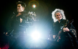 Concert de reine Image libre de droits