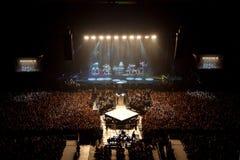 Concert de rendement musical. exposition légère Photographie stock libre de droits