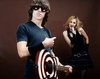 Concert de rock Image stock