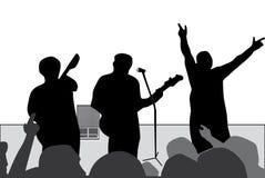 Concert de rock illustration stock