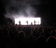Concert de rock 2 photos libres de droits