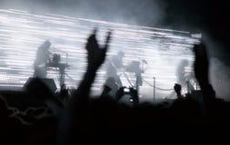 Concert de rock photo stock