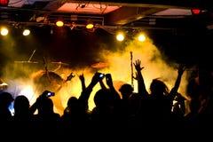 Concert de rock Images stock