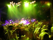 Concert de rock abstrait Image libre de droits
