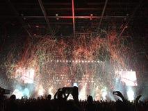 Concert de rock en Hong Kong Photographie stock