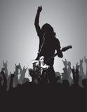 Concert de rock XII image libre de droits