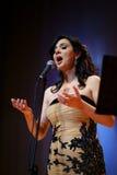 Concert de Samar Kammouj Image libre de droits