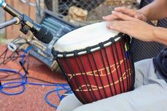Concert drummer Stock Image