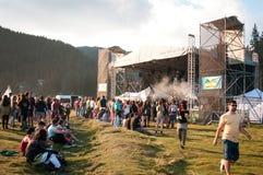 Concert extérieur images stock