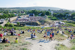 Concert in Feodosia Stock Photography