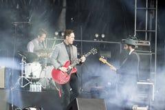 Concert festival music Group St Paul and The Broken Bones Stock Image