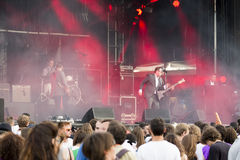 Concert festival music Group St Paul and The Broken Bones Stock Photography