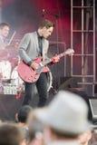 Concert festival music Group St Paul and The Broken Bones Stock Photos
