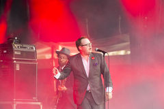 Concert festival music Group St Paul and The Broken Bones Stock Photos