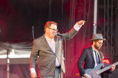 Concert festival music Group St Paul and The Broken Bones Stock Image