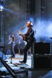 concert folk rock Στοκ Εικόνα