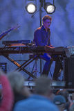 Concert at fredriksten fortress, joe cocker with band Stock Photos