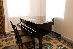 Concert grand piano Royalty Free Stock Images