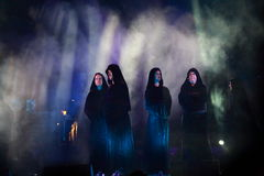 Concert Gregorian Stock Photos