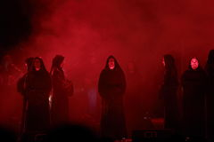 Concert Gregorian Royalty Free Stock Photos