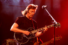Concert of guitarist Steve Hackett Royalty Free Stock Photos