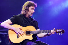Concert of guitarist Steve Hackett Royalty Free Stock Images