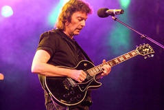 Concert of guitarist Steve Hackett Stock Photography