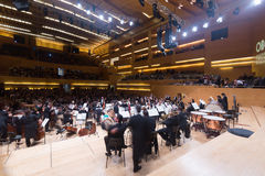 Concert hall Auditori Banda municipal de Barcelona Stock Photography