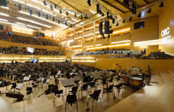 Concert hall Auditori. Barcelona, Spain Stock Image