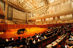 Concert hall of China National Grand Theater Royalty Free Stock Images