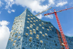 Concert hall Elbphilharmonie under construction Royalty Free Stock Photo