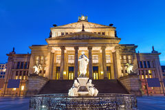 The Concert hall at the Gendarmenmarkt Royalty Free Stock Images