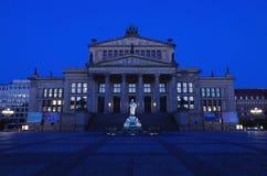 Concert hall at gendarmenmarkt at night Royalty Free Stock Photos