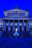 Concert hall at gendarmenmarkt at night Royalty Free Stock Photography
