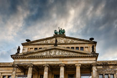 Concert Hall on Gendarmenmarkt Square in Berlin Royalty Free Stock Photo