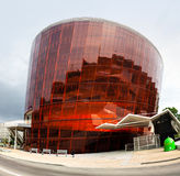 Concert Hall Great Amber in Liepaja, Latvia. LIEPAJA, LATVIA - Jul 27, 2016: Concert hall Great Amber LIELAIS DZINTARS is a regional centre of culture and events Royalty Free Stock Image