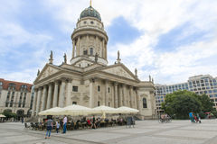 Concert Hall - Konzerthaus Berlin - Gendarmenmarkt Stock Photo