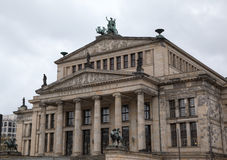 Concert hall (Konzerthaus) in Gendarmenmarkt. Stock Photography