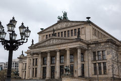 Concert hall (Konzerthaus) in Gendarmenmarkt. Royalty Free Stock Photo