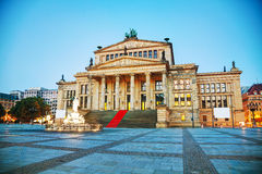 Concert hall (Konzerthaus) at Gendarmenmarkt square in Berlin Royalty Free Stock Photo