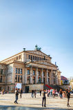 Concert hall (Konzerthaus) at Gendarmenmarkt square in Berlin Royalty Free Stock Photography
